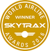 Skytrax world airline awards 2016 winner